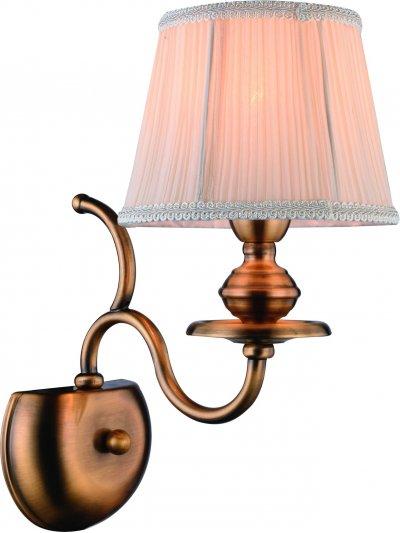Светильник Arte lamp A5012AP-1RB EmpireКлассика<br><br><br>Тип товара: Светильник настенный бра<br>Тип лампы: накал-я - энергосбер-я<br>Тип цоколя: E14<br>Количество ламп: 1<br>Ширина, мм: 310<br>MAX мощность ламп, Вт: 40<br>Длина, мм: 180<br>Высота, мм: 370<br>Цвет арматуры: бронзовый