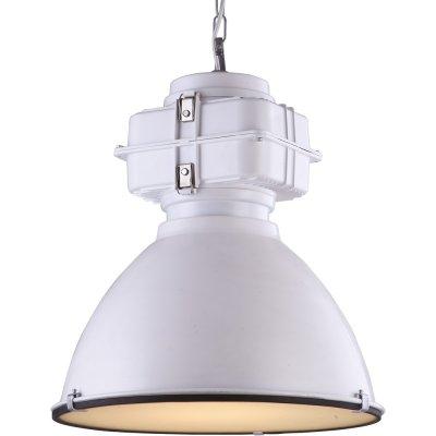 Подвесной светильник Arte lamp A5014SP-1WH LoftПодвесные<br>Компания «Светодом» предлагает широкий ассортимент люстр от известных производителей. Представленные в нашем каталоге товары выполнены из современных материалов и обладают отличным качеством. Благодаря широкому ассортименту Вы сможете найти у нас люстру под любой интерьер. Мы предлагаем как классические варианты, так и современные модели, отличающиеся лаконичностью и простотой форм.  Стильная люстра Arte lamp A5014SP-1WH станет украшением любого дома. Эта модель от известного производителя не оставит равнодушным ценителей красивых и оригинальных предметов интерьера. Люстра Arte lamp A5014SP-1WH обеспечит равномерное распределение света по всей комнате. При выборе обратите внимание на характеристики, позволяющие приобрести наиболее подходящую модель. Купить понравившуюся люстру по доступной цене Вы можете в интернет-магазине «Светодом».<br><br>Установка на натяжной потолок: Да<br>S освещ. до, м2: 3<br>Крепление: Крюк<br>Тип лампы: накаливания / энергосбережения / LED-светодиодная<br>Тип цоколя: E27<br>Цвет арматуры: белый<br>Количество ламп: 1<br>Диаметр, мм мм: 480<br>Длина цепи/провода, мм: 940<br>Высота, мм: 580<br>MAX мощность ламп, Вт: 60
