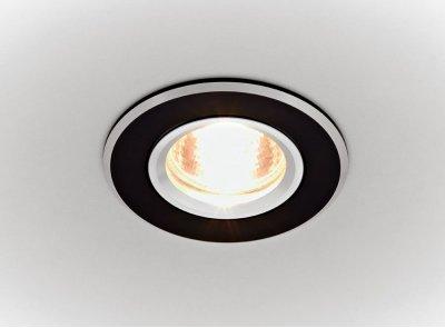 Встраиваемый светильник Ambrella A502 BKТочечные светильники круглые<br>Встраиваемые светильники – популярное осветительное оборудование, которое можно использовать в качестве основного источника или в дополнение к люстре. Они позволяют создать нужную атмосферу атмосферу и привнести в интерьер уют и комфорт.   Интернет-магазин «Светодом» предлагает стильный встраиваемый светильник Ambrella A502 BK. Данная модель достаточно универсальна, поэтому подойдет практически под любой интерьер. Перед покупкой не забудьте ознакомиться с техническими параметрами, чтобы узнать тип цоколя, площадь освещения и другие важные характеристики.   Приобрести встраиваемый светильник Ambrella A502 BK в нашем онлайн-магазине Вы можете либо с помощью «Корзины», либо по контактным номерам. Мы развозим заказы по Москве, Екатеринбургу и остальным российским городам.<br><br>S освещ. до, м2: 2,5<br>Тип лампы: галогенная<br>Тип цоколя: GU5.3<br>Цвет арматуры: черный<br>Количество ламп: 1<br>Диаметр, мм мм: 80<br>Диаметр врезного отверстия, мм: 65<br>MAX мощность ламп, Вт: 50