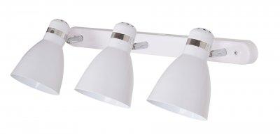 Светильник потолочный Arte lamp A5049PL-3WH MERCOLEDТройные<br>Светильники-споты – это оригинальные изделия с современным дизайном. Они позволяют не ограничивать свою фантазию при выборе освещения для интерьера. Такие модели обеспечивают достаточно качественный свет. Благодаря компактным размерам Вы можете использовать несколько спотов для одного помещения. <br>Интернет-магазин «Светодом» предлагает необычный светильник-спот ARTE Lamp A5049PL-3WH по привлекательной цене. Эта модель станет отличным дополнением к люстре, выполненной в том же стиле. Перед оформлением заказа изучите характеристики изделия. <br>Купить светильник-спот ARTE Lamp A5049PL-3WH в нашем онлайн-магазине Вы можете либо с помощью формы на сайте, либо по указанным выше телефонам. Обратите внимание, что у нас склады не только в Москве и Екатеринбурге, но и других городах России.<br><br>Тип цоколя: E27<br>Количество ламп: 3<br>MAX мощность ламп, Вт: 60<br>Размеры: H15xW17xL58<br>Цвет арматуры: белый