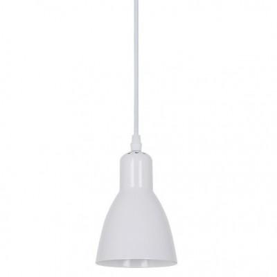 Светильник подвесной Arte lamp A5049SP-1WH MERCOLEDОдиночные<br><br><br>Тип товара: Светильник подвесной<br>Тип лампы: Накаливания / энергосбережения / светодиодная<br>Тип цоколя: E27<br>Количество ламп: 1<br>MAX мощность ламп, Вт: 60<br>Размеры: H18xW13xL13+шн/цп110<br>Цвет арматуры: белый