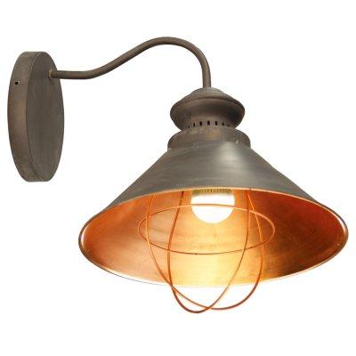 Настенный бра Arte lamp A5050AP-1BG WarholМорской стиль<br><br><br>S освещ. до, м2: 3<br>Тип лампы: накаливания / энергосбережения / LED-светодиодная<br>Тип цоколя: E27<br>Количество ламп: 1<br>Ширина, мм: 350<br>Диаметр, мм мм: 400<br>Высота, мм: 300<br>MAX мощность ламп, Вт: 40