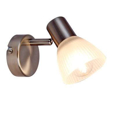 Светильник настенный бра Arte lamp A5062AP-1SS PARRYСовременные<br><br><br>Тип цоколя: E14<br>Цвет арматуры: серебристый<br>Количество ламп: 1<br>Размеры: H15xW8xL8<br>MAX мощность ламп, Вт: 40