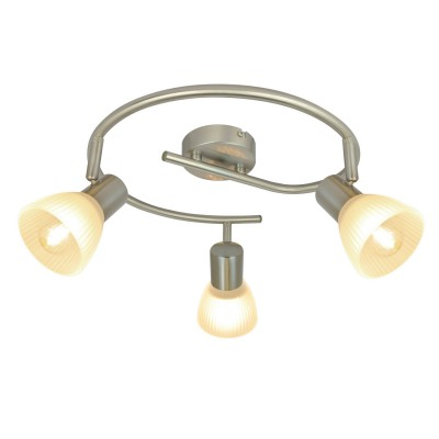 Светильник потолочный Arte lamp A5062PL-3SS PARRYтройные споты<br>Светильники-споты – это оригинальные изделия с современным дизайном. Они позволяют не ограничивать свою фантазию при выборе освещения для интерьера. Такие модели обеспечивают достаточно качественный свет. Благодаря компактным размерам Вы можете использовать несколько спотов для одного помещения. <br>Интернет-магазин «Светодом» предлагает необычный светильник-спот ARTE Lamp A5062PL-3SS по привлекательной цене. Эта модель станет отличным дополнением к люстре, выполненной в том же стиле. Перед оформлением заказа изучите характеристики изделия. <br>Купить светильник-спот ARTE Lamp A5062PL-3SS в нашем онлайн-магазине Вы можете либо с помощью формы на сайте, либо по указанным выше телефонам. Обратите внимание, что у нас склады не только в Москве и Екатеринбурге, но и других городах России.<br><br>S освещ. до, м2: 6<br>Тип цоколя: E14<br>Цвет арматуры: серебристый<br>Количество ламп: 3<br>Размеры: H18xW42xL42<br>MAX мощность ламп, Вт: 40