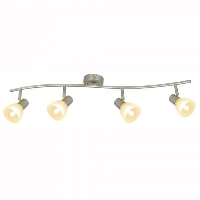 Светильник потолочный Arte lamp A5062PL-4SS PARRYС 4 лампами<br>Светильники-споты – это оригинальные изделия с современным дизайном. Они позволяют не ограничивать свою фантазию при выборе освещения для интерьера. Такие модели обеспечивают достаточно качественный свет. Благодаря компактным размерам Вы можете использовать несколько спотов для одного помещения.  Интернет-магазин «Светодом» предлагает необычный светильник-спот ARTE Lamp A5062PL-4SS по привлекательной цене. Эта модель станет отличным дополнением к люстре, выполненной в том же стиле. Перед оформлением заказа изучите характеристики изделия.  Купить светильник-спот ARTE Lamp A5062PL-4SS в нашем онлайн-магазине Вы можете либо с помощью формы на сайте, либо по указанным выше телефонам. Обратите внимание, что у нас склады не только в Москве и Екатеринбурге, но и других городах России.<br><br>Тип цоколя: E14<br>Цвет арматуры: серебристый<br>Количество ламп: 4<br>Размеры: H18xW8xL8<br>MAX мощность ламп, Вт: 40