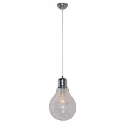 Светильник подвесной Arte lamp A5088SP-1CC LoftОдиночные<br><br><br>S освещ. до, м2: 3<br>Крепление: пластина/крюк<br>Тип товара: Светильник подвесной<br>Скидка, %: 13<br>Тип лампы: накаливания / энергосбережения / LED-светодиодная<br>Тип цоколя: E27<br>Количество ламп: 1<br>Ширина, мм: 230<br>MAX мощность ламп, Вт: 40<br>Диаметр, мм мм: 230<br>Длина цепи/провода, мм: 700<br>Высота, мм: 370<br>Цвет арматуры: серебристый