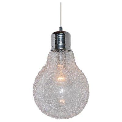 Светильник подвесной Arte lamp A5088SP-1CC LoftОдиночные<br>Подвесной светильник – это универсальный вариант, подходящий для любой комнаты. Сегодня производители предлагают огромный выбор таких моделей по самым разным ценам. В каталоге интернет-магазина «Светодом» мы собрали большое количество интересных и оригинальных светильников по выгодной стоимости. Вы можете приобрести их в Москве, Екатеринбурге и любом другом городе России.  Подвесной светильник ARTELamp A5088SP-1CC сразу же привлечет внимание Ваших гостей благодаря стильному исполнению. Благородный дизайн позволит использовать эту модель практически в любом интерьере. Она обеспечит достаточно света и при этом легко монтируется. Чтобы купить подвесной светильник ARTELamp A5088SP-1CC, воспользуйтесь формой на нашем сайте или позвоните менеджерам интернет-магазина.<br><br>S освещ. до, м2: 3<br>Крепление: пластина/крюк<br>Тип лампы: накаливания / энергосбережения / LED-светодиодная<br>Тип цоколя: E27<br>Количество ламп: 1<br>Ширина, мм: 230<br>MAX мощность ламп, Вт: 40<br>Диаметр, мм мм: 230<br>Длина цепи/провода, мм: 700<br>Высота, мм: 370<br>Цвет арматуры: серебристый