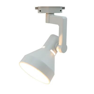 A5108PL-1WH Arte lamp СветильникСветильники для трека<br><br><br>Тип цоколя: E27<br>Цвет арматуры: БЕЛЫЙ<br>Количество ламп: 1<br>Диаметр, мм мм: 120<br>Размеры: 25*12<br>Длина, мм: 150<br>Высота, мм: 240<br>MAX мощность ламп, Вт: 60W<br>Общая мощность, Вт: 60W