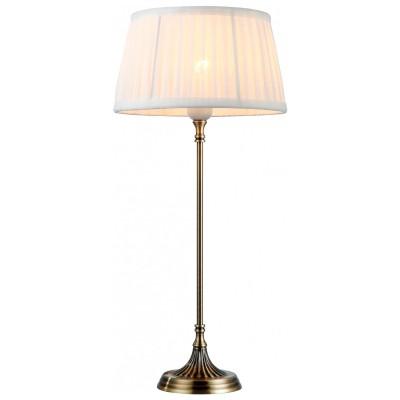 Настольная лампа классика Arte lamp A5125LT-1AB ScandyС абажуром<br>Настольная лампа – это не просто источник дополнительного освещения, но и оригинальный элемент декора. Его можно установить в спальне, гостиной, кабинете и других комнатах. Интернет-магазин «Светодом» предлагает настольные лампы разных стилей по доступным ценам. Благодаря большому ассортименту Вы обязательно найдете в нашем каталоге именно ту модель, которую искали. <br> Настольная лампа Arte lamp A5125LT-1AB – прекрасный вариант для завершения интерьера. Ее можно включить одновременно с люстрой для более яркого освещения или без нее для создания уютной атмосферы, настраивающей на отдых. <br> Купить настольную лампу Arte lamp A5125LT-1AB Вы можете с помощью виртуальной «Корзины» или по контактным номерам, указанным на сайте.<br><br>S освещ. до, м2: 3<br>Тип лампы: накал-я - энергосбер-я<br>Тип цоколя: E27<br>Количество ламп: 1<br>Ширина, мм: 250<br>MAX мощность ламп, Вт: 40<br>Диаметр, мм мм: 250<br>Высота, мм: 540<br>Цвет арматуры: бронзовый