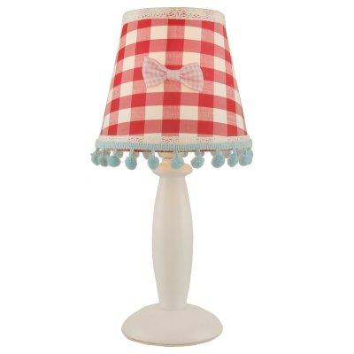 Светильник настольный Arte lamp A5165LT-1WH ProvenceДля детской<br>Настольная лампа – это не просто источник дополнительного освещения, но и оригинальный элемент декора. Его можно установить в спальне, гостиной, кабинете и других комнатах. Интернет-магазин «Светодом» предлагает настольные лампы разных стилей по доступным ценам. Благодаря большому ассортименту Вы обязательно найдете в нашем каталоге именно ту модель, которую искали. <br> Настольная лампа Arte lamp A5165LT-1WH – прекрасный вариант для завершения интерьера. Ее можно включить одновременно с люстрой для более яркого освещения или без нее для создания уютной атмосферы, настраивающей на отдых. <br> Купить настольную лампу Arte lamp A5165LT-1WH Вы можете с помощью виртуальной «Корзины» или по контактным номерам, указанным на сайте.<br><br>S освещ. до, м2: 3<br>Тип лампы: накал-я - энергосбер-я<br>Тип цоколя: E14<br>Количество ламп: 1<br>Ширина, мм: 140<br>MAX мощность ламп, Вт: 40<br>Диаметр, мм мм: 140<br>Высота, мм: 300