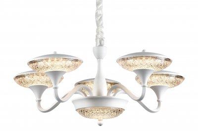 Светильник Arte Lamp A5168LM-5WHсовременные подвесные люстры модерн<br>Светильник Arte Lamp A5168LM-5WH сделает Ваш интерьер современным, стильным и запоминающимся! Наиболее функционально и эстетически привлекательно модель будет смотреться в гостиной, зале, холле или другой комнате. А в комплекте с настенными бра и торшером из этой же коллекции, сделает интерьер по-дизайнерски профессиональным и законченным.
