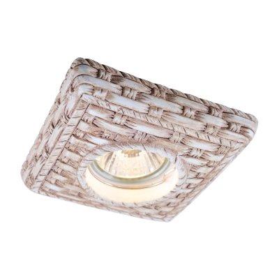 Светильник Arte lamp A5207PL-1WC PezziГипсовые<br><br><br>Тип товара: Светильник встраиваемый<br>Скидка, %: 43<br>Тип лампы: галогенная<br>Тип цоколя: GU5.3 (MR16)<br>Ширина, мм: 107<br>MAX мощность ламп, Вт: 50<br>Диаметр врезного отверстия, мм: 75<br>Длина, мм: 107<br>Высота, мм: 20