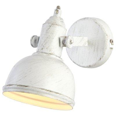 Настенный бра Arte lamp A5213AP-1WG MartinМорской стиль<br><br><br>S освещ. до, м2: 3<br>Тип лампы: накаливания / энергосбережения / LED-светодиодная<br>Тип цоколя: E14<br>Количество ламп: 1<br>Ширина, мм: 110<br>MAX мощность ламп, Вт: 40<br>Диаметр, мм мм: 210<br>Высота, мм: 180