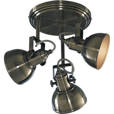 Светильник спот Arte lamp A5213PL-3AB MartinПотолочные<br>Компания «Светодом» предлагает широкий ассортимент люстр от известных производителей. Представленные в нашем каталоге товары выполнены из современных материалов и обладают отличным качеством. Благодаря широкому ассортименту Вы сможете найти у нас люстру под любой интерьер. Мы предлагаем как классические варианты, так и современные модели, отличающиеся лаконичностью и простотой форм.  Стильная люстра Arte lamp A5213PL-3AB станет украшением любого дома. Эта модель от известного производителя не оставит равнодушным ценителей красивых и оригинальных предметов интерьера. Люстра Arte lamp A5213PL-3AB обеспечит равномерное распределение света по всей комнате. При выборе обратите внимание на характеристики, позволяющие приобрести наиболее подходящую модель.  Купить понравившуюся люстру по доступной цене Вы можете в интернет-магазине «Светодом».<br><br>Установка на натяжной потолок: Да<br>S освещ. до, м2: 8<br>Крепление: Планка<br>Тип лампы: накаливания / энергосбережения / LED-светодиодная<br>Тип цоколя: E14<br>Количество ламп: 3<br>Ширина, мм: 300<br>MAX мощность ламп, Вт: 40<br>Диаметр, мм мм: 300<br>Высота, мм: 270<br>Цвет арматуры: бронзовый