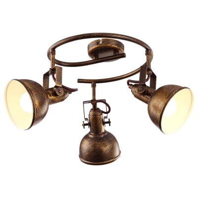 Светильник Arte lamp A5215PL-3BR MartinТройные<br>Светильники-споты – это оригинальные изделия с современным дизайном. Они позволяют не ограничивать свою фантазию при выборе освещения для интерьера. Такие модели обеспечивают достаточно качественный свет. Благодаря компактным размерам Вы можете использовать несколько спотов для одного помещения.  Интернет-магазин «Светодом» предлагает необычный светильник-спот ARTE Lamp A5215PL-3BR по привлекательной цене. Эта модель станет отличным дополнением к люстре, выполненной в том же стиле. Перед оформлением заказа изучите характеристики изделия.  Купить светильник-спот ARTE Lamp A5215PL-3BR в нашем онлайн-магазине Вы можете либо с помощью формы на сайте, либо по указанным выше телефонам. Обратите внимание, что мы предлагаем доставку не только по Москве и Екатеринбургу, но и всем остальным российским городам.<br><br>Тип цоколя: E14<br>Количество ламп: 3<br>MAX мощность ламп, Вт: 40<br>Диаметр, мм мм: 360<br>Высота, мм: 230