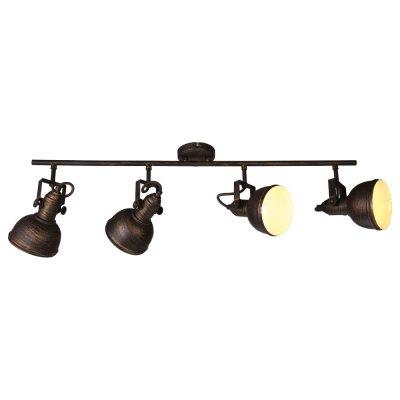 Люстра Arte lamp A5215PL-4BR MartinС 4 лампами<br>Светильники-споты – это оригинальные изделия с современным дизайном. Они позволяют не ограничивать свою фантазию при выборе освещения для интерьера. Такие модели обеспечивают достаточно качественный свет. Благодаря компактным размерам Вы можете использовать несколько спотов для одного помещения. <br>Интернет-магазин «Светодом» предлагает необычный светильник-спот ARTE Lamp A5215PL-4BR по привлекательной цене. Эта модель станет отличным дополнением к люстре, выполненной в том же стиле. Перед оформлением заказа изучите характеристики изделия. <br>Купить светильник-спот ARTE Lamp A5215PL-4BR в нашем онлайн-магазине Вы можете либо с помощью формы на сайте, либо по указанным выше телефонам. Обратите внимание, что у нас склады не только в Москве и Екатеринбурге, но и других городах России.<br><br>Установка на натяжной потолок: Да<br>S освещ. до, м2: 11<br>Крепление: Планка<br>Тип лампы: накаливания / энергосбережения / LED-светодиодная<br>Тип цоколя: E14<br>Количество ламп: 4<br>Ширина, мм: 110<br>Диаметр, мм мм: 820<br>Высота, мм: 250<br>MAX мощность ламп, Вт: 40