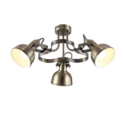 Светильник Arte lamp A5216PL-3AB MartinПотолочные<br>Компания «Светодом» предлагает широкий ассортимент люстр от известных производителей. Представленные в нашем каталоге товары выполнены из современных материалов и обладают отличным качеством. Благодаря широкому ассортименту Вы сможете найти у нас люстру под любой интерьер. Мы предлагаем как классические варианты, так и современные модели, отличающиеся лаконичностью и простотой форм.  Стильная люстра Arte lamp A5216PL-3AB станет украшением любого дома. Эта модель от известного производителя не оставит равнодушным ценителей красивых и оригинальных предметов интерьера. Люстра Arte lamp A5216PL-3AB обеспечит равномерное распределение света по всей комнате. При выборе обратите внимание на характеристики, позволяющие приобрести наиболее подходящую модель. Купить понравившуюся люстру по доступной цене Вы можете в интернет-магазине «Светодом».<br><br>Установка на натяжной потолок: Да<br>S освещ. до, м2: 6<br>Крепление: Планка<br>Тип лампы: накаливания / энергосбережения / LED-светодиодная<br>Тип цоколя: E14<br>Цвет арматуры: бронзовый<br>Количество ламп: 3<br>Диаметр, мм мм: 530<br>Высота, мм: 250<br>MAX мощность ламп, Вт: 40