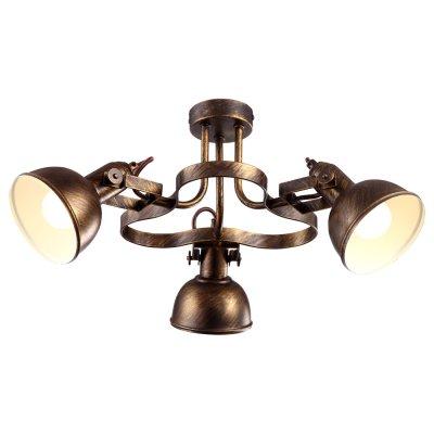 Светильник Arte lamp A5216PL-3BR MartinПотолочные<br>Компания «Светодом» предлагает широкий ассортимент люстр от известных производителей. Представленные в нашем каталоге товары выполнены из современных материалов и обладают отличным качеством. Благодаря широкому ассортименту Вы сможете найти у нас люстру под любой интерьер. Мы предлагаем как классические варианты, так и современные модели, отличающиеся лаконичностью и простотой форм. <br>Стильная люстра Arte lamp A5216PL-3BR станет украшением любого дома. Эта модель от известного производителя не оставит равнодушным ценителей красивых и оригинальных предметов интерьера. Люстра Arte lamp A5216PL-3BR обеспечит равномерное распределение света по всей комнате. При выборе обратите внимание на характеристики, позволяющие приобрести наиболее подходящую модель. <br>Купить понравившуюся люстру по доступной цене Вы можете в интернет-магазине «Светодом».<br><br>Установка на натяжной потолок: Да<br>S освещ. до, м2: 6<br>Крепление: Планка<br>Тип лампы: накал-я - энергосбер-я<br>Тип цоколя: E14<br>Цвет арматуры: коричневый<br>Количество ламп: 3<br>Диаметр, мм мм: 530<br>Высота, мм: 250<br>MAX мощность ламп, Вт: 40