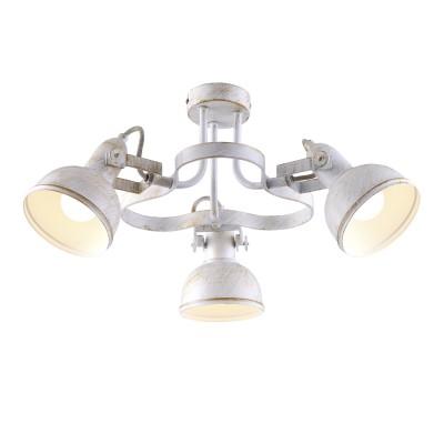 Светильник Arte lamp A5216PL-3WG MartinПотолочные<br>Компания «Светодом» предлагает широкий ассортимент люстр от известных производителей. Представленные в нашем каталоге товары выполнены из современных материалов и обладают отличным качеством. Благодаря широкому ассортименту Вы сможете найти у нас люстру под любой интерьер. Мы предлагаем как классические варианты, так и современные модели, отличающиеся лаконичностью и простотой форм.  Стильная люстра Arte lamp A5216PL-3WG станет украшением любого дома. Эта модель от известного производителя не оставит равнодушным ценителей красивых и оригинальных предметов интерьера. Люстра Arte lamp A5216PL-3WG обеспечит равномерное распределение света по всей комнате. При выборе обратите внимание на характеристики, позволяющие приобрести наиболее подходящую модель. Купить понравившуюся люстру по доступной цене Вы можете в интернет-магазине «Светодом».<br><br>Установка на натяжной потолок: Да<br>S освещ. до, м2: 6<br>Крепление: Планка<br>Тип лампы: накаливания / энергосбережения / LED-светодиодная<br>Тип цоколя: E14<br>Количество ламп: 3<br>MAX мощность ламп, Вт: 40<br>Диаметр, мм мм: 530<br>Высота, мм: 250<br>Цвет арматуры: белый