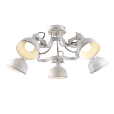 Светильник Arte lamp A5216PL-5WG MartinПотолочные<br>Компания «Светодом» предлагает широкий ассортимент люстр от известных производителей. Представленные в нашем каталоге товары выполнены из современных материалов и обладают отличным качеством. Благодаря широкому ассортименту Вы сможете найти у нас люстру под любой интерьер. Мы предлагаем как классические варианты, так и современные модели, отличающиеся лаконичностью и простотой форм. <br>Стильная люстра Arte lamp A5216PL-5WG станет украшением любого дома. Эта модель от известного производителя не оставит равнодушным ценителей красивых и оригинальных предметов интерьера. Люстра Arte lamp A5216PL-5WG обеспечит равномерное распределение света по всей комнате. При выборе обратите внимание на характеристики, позволяющие приобрести наиболее подходящую модель. <br>Купить понравившуюся люстру по доступной цене Вы можете в интернет-магазине «Светодом».<br><br>Установка на натяжной потолок: Да<br>S освещ. до, м2: 10<br>Крепление: Планка<br>Тип лампы: накаливания / энергосбережения / LED-светодиодная<br>Тип цоколя: E14<br>Цвет арматуры: белый<br>Количество ламп: 5<br>Диаметр, мм мм: 600<br>Высота, мм: 250<br>MAX мощность ламп, Вт: 40