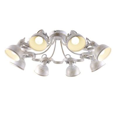 Светильник Arte lamp A5216PL-8WG MartinПотолочные<br>Компания «Светодом» предлагает широкий ассортимент люстр от известных производителей. Представленные в нашем каталоге товары выполнены из современных материалов и обладают отличным качеством. Благодаря широкому ассортименту Вы сможете найти у нас люстру под любой интерьер. Мы предлагаем как классические варианты, так и современные модели, отличающиеся лаконичностью и простотой форм.  Стильная люстра Arte lamp A5216PL-8WG станет украшением любого дома. Эта модель от известного производителя не оставит равнодушным ценителей красивых и оригинальных предметов интерьера. Люстра Arte lamp A5216PL-8WG обеспечит равномерное распределение света по всей комнате. При выборе обратите внимание на характеристики, позволяющие приобрести наиболее подходящую модель. Купить понравившуюся люстру по доступной цене Вы можете в интернет-магазине «Светодом».<br><br>Установка на натяжной потолок: Да<br>S освещ. до, м2: 16<br>Крепление: Планка<br>Тип лампы: накаливания / энергосбережения / LED-светодиодная<br>Тип цоколя: E14<br>Количество ламп: 8<br>MAX мощность ламп, Вт: 40<br>Диаметр, мм мм: 730<br>Высота, мм: 250<br>Цвет арматуры: белый