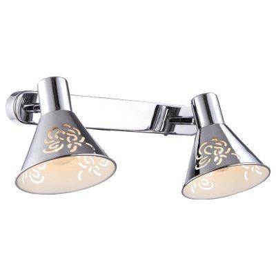 Светильник Arte lamp A5218AP-2CC ConoДвойные<br>Светильники-споты – это оригинальные изделия с современным дизайном. Они позволяют не ограничивать свою фантазию при выборе освещения для интерьера. Такие модели обеспечивают достаточно качественный свет. Благодаря компактным размерам Вы можете использовать несколько спотов для одного помещения.  Интернет-магазин «Светодом» предлагает необычный светильник-спот ARTE Lamp A5218AP-2CC по привлекательной цене. Эта модель станет отличным дополнением к люстре, выполненной в том же стиле. Перед оформлением заказа изучите характеристики изделия.  Купить светильник-спот ARTE Lamp A5218AP-2CC в нашем онлайн-магазине Вы можете либо с помощью формы на сайте, либо по указанным выше телефонам. Обратите внимание, что у нас склады не только в Москве и Екатеринбурге, но и других городах России.<br><br>Тип лампы: накал-я - энергосбер-я<br>Тип цоколя: E14<br>Количество ламп: 2<br>Ширина, мм: 170<br>MAX мощность ламп, Вт: 40<br>Длина, мм: 310<br>Высота, мм: 150<br>Цвет арматуры: серебристый