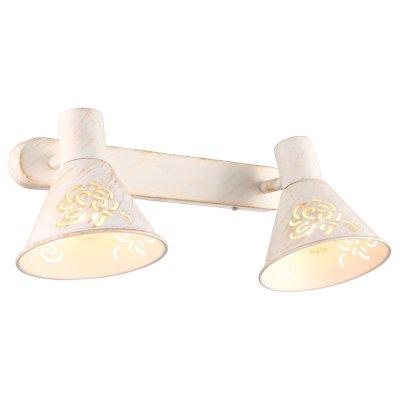 Светильник бра Arte lamp A5218AP-2WG ConoДвойные<br>Светильники-споты – это оригинальные изделия с современным дизайном. Они позволяют не ограничивать свою фантазию при выборе освещения для интерьера. Такие модели обеспечивают достаточно качественный свет. Благодаря компактным размерам Вы можете использовать несколько спотов для одного помещения.  Интернет-магазин «Светодом» предлагает необычный светильник-спот ARTE Lamp A5218AP-2WG по привлекательной цене. Эта модель станет отличным дополнением к люстре, выполненной в том же стиле. Перед оформлением заказа изучите характеристики изделия.  Купить светильник-спот ARTE Lamp A5218AP-2WG в нашем онлайн-магазине Вы можете либо с помощью формы на сайте, либо по указанным выше телефонам. Обратите внимание, что у нас склады не только в Москве и Екатеринбурге, но и других городах России.<br><br>Тип лампы: накал-я - энергосбер-я<br>Тип цоколя: E14<br>Количество ламп: 2<br>Ширина, мм: 170<br>MAX мощность ламп, Вт: 40<br>Длина, мм: 310<br>Высота, мм: 150<br>Цвет арматуры: белый с золотистой патиной
