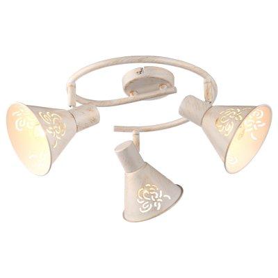 Светильник Arte lamp A5218PL-3WG ConoТройные<br>Светильники-споты – это оригинальные изделия с современным дизайном. Они позволяют не ограничивать свою фантазию при выборе освещения для интерьера. Такие модели обеспечивают достаточно качественный свет. Благодаря компактным размерам Вы можете использовать несколько спотов для одного помещения.  Интернет-магазин «Светодом» предлагает необычный светильник-спот ARTE Lamp A5218PL-3WG по привлекательной цене. Эта модель станет отличным дополнением к люстре, выполненной в том же стиле. Перед оформлением заказа изучите характеристики изделия.  Купить светильник-спот ARTE Lamp A5218PL-3WG в нашем онлайн-магазине Вы можете либо с помощью формы на сайте, либо по указанным выше телефонам. Обратите внимание, что у нас склады не только в Москве и Екатеринбурге, но и других городах России.<br><br>Тип лампы: накал-я - энергосбер-я<br>Тип цоколя: E14<br>Количество ламп: 3<br>MAX мощность ламп, Вт: 40<br>Диаметр, мм мм: 840<br>Высота, мм: 220<br>Цвет арматуры: белый с золотистой патиной