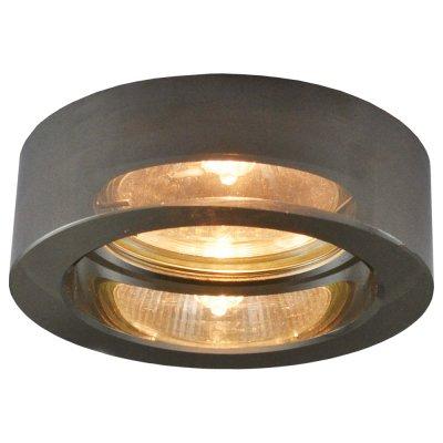 Светильник пепельный Arte lamp A5223PL-1CC WagnerКруглые<br><br><br>S освещ. до, м2: 4<br>Тип товара: Светильник потолочный<br>Тип лампы: галогенная<br>Тип цоколя: GU10<br>Количество ламп: 1<br>Ширина, мм: 80<br>MAX мощность ламп, Вт: 50<br>Диаметр, мм мм: 80<br>Размеры: H3,2xW9xL9<br>Диаметр врезного отверстия, мм: 60<br>Высота, мм: 110