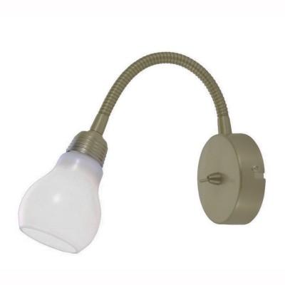 Светильник настенный бра Arte lamp A5271AP-1AB LETTURAГибкие<br><br><br>Тип цоколя: G9<br>Количество ламп: 1<br>MAX мощность ламп, Вт: 33<br>Размеры: H17xW8xL13<br>Цвет арматуры: бронзовый