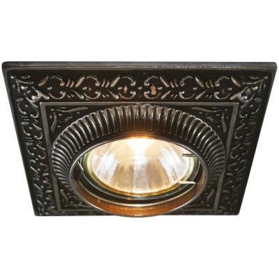 Светильник точечный Arte lamp A5284PL-1SB OcchioКвадратные<br>Встраиваемые светильники – популярное осветительное оборудование, которое можно использовать в качестве основного источника или в дополнение к люстре. Они позволяют создать нужную атмосферу атмосферу и привнести в интерьер уют и комфорт.   Интернет-магазин «Светодом» предлагает стильный встраиваемый светильник ARTE Lamp A5284PL-1SB. Данная модель достаточно универсальна, поэтому подойдет практически под любой интерьер. Перед покупкой не забудьте ознакомиться с техническими параметрами, чтобы узнать тип цоколя, площадь освещения и другие важные характеристики.   Приобрести встраиваемый светильник ARTE Lamp A5284PL-1SB в нашем онлайн-магазине Вы можете либо с помощью «Корзины», либо по контактным номерам. Мы развозим заказы по Москве, Екатеринбургу и остальным российским городам.<br><br>Тип лампы: галогенная<br>Тип цоколя: GU5.3 (MR16)<br>Ширина, мм: 100<br>MAX мощность ламп, Вт: 50<br>Диаметр врезного отверстия, мм: 65<br>Длина, мм: 100<br>Высота, мм: 15