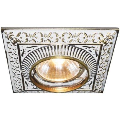 Светильник Arte lamp A5284PL-1WG OcchioКвадратные<br>Встраиваемые светильники – популярное осветительное оборудование, которое можно использовать в качестве основного источника или в дополнение к люстре. Они позволяют создать нужную атмосферу атмосферу и привнести в интерьер уют и комфорт.   Интернет-магазин «Светодом» предлагает стильный встраиваемый светильник ARTE Lamp A5284PL-1WG. Данная модель достаточно универсальна, поэтому подойдет практически под любой интерьер. Перед покупкой не забудьте ознакомиться с техническими параметрами, чтобы узнать тип цоколя, площадь освещения и другие важные характеристики.   Приобрести встраиваемый светильник ARTE Lamp A5284PL-1WG в нашем онлайн-магазине Вы можете либо с помощью «Корзины», либо по контактным номерам. Мы развозим заказы по Москве, Екатеринбургу и остальным российским городам.<br><br>Тип лампы: галогенная<br>Тип цоколя: GU5.3 (MR16)<br>Ширина, мм: 100<br>Диаметр врезного отверстия, мм: 65<br>Длина, мм: 100<br>Высота, мм: 15<br>MAX мощность ламп, Вт: 50