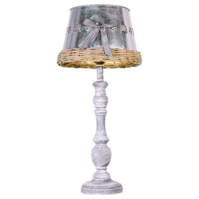 Светильник Arte lamp A5290LT-1RI FattoriaСовременные<br>Настольная лампа – это не просто источник дополнительного освещения, но и оригинальный элемент декора. Его можно установить в спальне, гостиной, кабинете и других комнатах. Интернет-магазин «Светодом» предлагает настольные лампы разных стилей по доступным ценам. Благодаря большому ассортименту Вы обязательно найдете в нашем каталоге именно ту модель, которую искали.   Настольная лампа Arte lamp A5290LT-1RI – прекрасный вариант для завершения интерьера. Ее можно включить одновременно с люстрой для более яркого освещения или без нее для создания уютной атмосферы, настраивающей на отдых.   Купить настольную лампу Arte lamp A5290LT-1RI Вы можете с помощью виртуальной «Корзины» или по контактным номерам, указанным на сайте.<br><br>Тип лампы: Накаливания / энергосбережения / светодиодная<br>Тип цоколя: E27<br>Цвет арматуры: серый<br>Количество ламп: 1<br>Диаметр, мм мм: 250<br>Высота, мм: 550<br>MAX мощность ламп, Вт: 40
