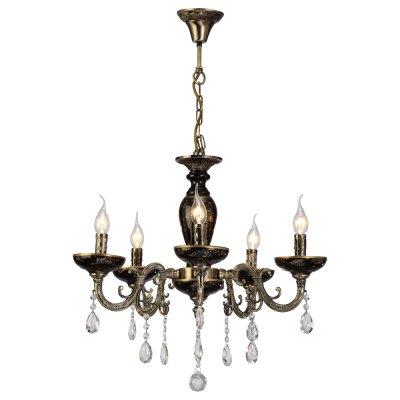Светильник Arte lamp A5335LM-5BA DubaiПодвесные<br>Компания «Светодом» предлагает широкий ассортимент люстр от известных производителей. Представленные в нашем каталоге товары выполнены из современных материалов и обладают отличным качеством. Благодаря широкому ассортименту Вы сможете найти у нас люстру под любой интерьер. Мы предлагаем как классические варианты, так и современные модели, отличающиеся лаконичностью и простотой форм.  Стильная люстра Arte lamp A5335LM-5BA станет украшением любого дома. Эта модель от известного производителя не оставит равнодушным ценителей красивых и оригинальных предметов интерьера. Люстра Arte lamp A5335LM-5BA обеспечит равномерное распределение света по всей комнате. При выборе обратите внимание на характеристики, позволяющие приобрести наиболее подходящую модель. Купить понравившуюся люстру по доступной цене Вы можете в интернет-магазине «Светодом».<br><br>Установка на натяжной потолок: Да<br>S освещ. до, м2: 10<br>Крепление: Крюк<br>Тип лампы: накал-я - энергосбер-я<br>Тип цоколя: E14<br>Цвет арматуры: бронзовый с чернением<br>Количество ламп: 5<br>Диаметр, мм мм: 620<br>Высота, мм: 550<br>MAX мощность ламп, Вт: 40
