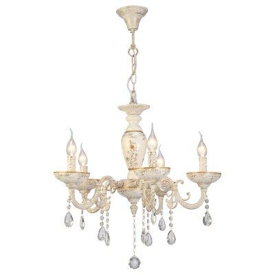 Светильник Arte lamp A5335LM-5WG DubaiПодвесные<br>Компания «Светодом» предлагает широкий ассортимент люстр от известных производителей. Представленные в нашем каталоге товары выполнены из современных материалов и обладают отличным качеством. Благодаря широкому ассортименту Вы сможете найти у нас люстру под любой интерьер. Мы предлагаем как классические варианты, так и современные модели, отличающиеся лаконичностью и простотой форм.  Стильная люстра Arte lamp A5335LM-5WG станет украшением любого дома. Эта модель от известного производителя не оставит равнодушным ценителей красивых и оригинальных предметов интерьера. Люстра Arte lamp A5335LM-5WG обеспечит равномерное распределение света по всей комнате. При выборе обратите внимание на характеристики, позволяющие приобрести наиболее подходящую модель. Купить понравившуюся люстру по доступной цене Вы можете в интернет-магазине «Светодом».<br><br>Установка на натяжной потолок: Да<br>S освещ. до, м2: 10<br>Крепление: Крюк<br>Тип лампы: накал-я - энергосбер-я<br>Тип цоколя: E14<br>Цвет арматуры: белый с золотистой патиной<br>Количество ламп: 5<br>Диаметр, мм мм: 620<br>Высота, мм: 550<br>MAX мощность ламп, Вт: 40
