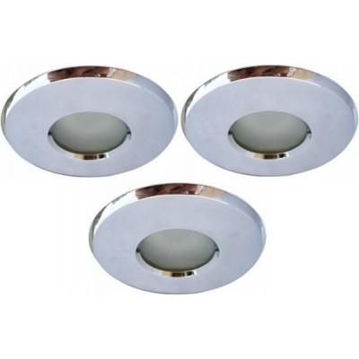 Светильник встраиваемый Arte lamp A5440PL-3CC AquaВ ванную<br>Встраиваемые светильники – популярное осветительное оборудование, которое можно использовать в качестве основного источника или в дополнение к люстре. Они позволяют создать нужную атмосферу атмосферу и привнести в интерьер уют и комфорт. <br> Интернет-магазин «Светодом» предлагает стильный встраиваемый светильник ARTE Lamp A5440PL-3CC. Данная модель достаточно универсальна, поэтому подойдет практически под любой интерьер. Перед покупкой не забудьте ознакомиться с техническими параметрами, чтобы узнать тип цоколя, площадь освещения и другие важные характеристики. <br> Приобрести встраиваемый светильник ARTE Lamp A5440PL-3CC в нашем онлайн-магазине Вы можете либо с помощью «Корзины», либо по контактным номерам. Мы развозим заказы по Москве, Екатеринбургу и остальным российским городам.<br><br>S освещ. до, м2: 10<br>Тип лампы: галогенная<br>Тип цоколя: GU10<br>Цвет арматуры: серебристый<br>Количество ламп: 3<br>Ширина, мм: 82<br>Диаметр, мм мм: 82<br>Диаметр врезного отверстия, мм: 77<br>Высота, мм: 130<br>MAX мощность ламп, Вт: 50