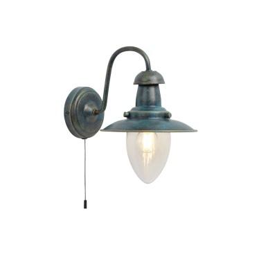 Светильник настенный Arte lamp A5518AP-1BG Fishermanбра в стиле лофт<br><br><br>Тип лампы: Накаливания / энергосбережения / светодиодная<br>Тип цоколя: E27<br>Цвет арматуры: СТАРАЯ МЕДЬ<br>Количество ламп: 1<br>Диаметр, мм мм: 180<br>Размеры: 25x18<br>Длина, мм: 250<br>Высота, мм: 260<br>MAX мощность ламп, Вт: 60W<br>Общая мощность, Вт: 60W