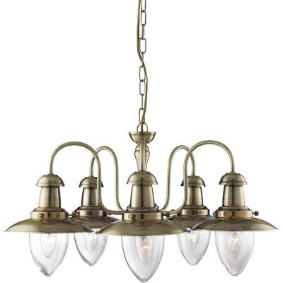 Подвесная люстра Arte lamp A5518LM-5AB FishermanПодвесные<br>Компания «Светодом» предлагает широкий ассортимент люстр от известных производителей. Представленные в нашем каталоге товары выполнены из современных материалов и обладают отличным качеством. Благодаря широкому ассортименту Вы сможете найти у нас люстру под любой интерьер. Мы предлагаем как классические варианты, так и современные модели, отличающиеся лаконичностью и простотой форм. <br>Стильная люстра Arte lamp A5518LM-5AB станет украшением любого дома. Эта модель от известного производителя не оставит равнодушным ценителей красивых и оригинальных предметов интерьера. Люстра Arte lamp A5518LM-5AB обеспечит равномерное распределение света по всей комнате. При выборе обратите внимание на характеристики, позволяющие приобрести наиболее подходящую модель. <br>Купить понравившуюся люстру по доступной цене Вы можете в интернет-магазине «Светодом».<br><br>Установка на натяжной потолок: Да<br>S освещ. до, м2: 15<br>Крепление: Планка<br>Тип лампы: накаливания / энергосбережения / LED-светодиодная<br>Тип цоколя: E27<br>Количество ламп: 5<br>MAX мощность ламп, Вт: 60<br>Диаметр, мм мм: 590<br>Длина цепи/провода, мм: 530<br>Высота, мм: 330<br>Оттенок (цвет): Прозрачный<br>Цвет арматуры: серый