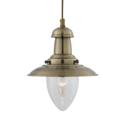 Светильник Arte lamp A5518SP-1AB FishermanОдиночные<br>Компания «Светодом» предлагает широкий ассортимент люстр от известных производителей. Представленные в нашем каталоге товары выполнены из современных материалов и обладают отличным качеством. Благодаря широкому ассортименту Вы сможете найти у нас люстру под любой интерьер. Мы предлагаем как классические варианты, так и современные модели, отличающиеся лаконичностью и простотой форм. <br>Стильная люстра Arte lamp A5518SP-1AB станет украшением любого дома. Эта модель от известного производителя не оставит равнодушным ценителей красивых и оригинальных предметов интерьера. Люстра Arte lamp A5518SP-1AB обеспечит равномерное распределение света по всей комнате. При выборе обратите внимание на характеристики, позволяющие приобрести наиболее подходящую модель. <br>Купить понравившуюся люстру по доступной цене Вы можете в интернет-магазине «Светодом».<br><br>Установка на натяжной потолок: Да<br>S освещ. до, м2: 4<br>Крепление: Планка<br>Тип лампы: накаливания / энергосбережения / LED-светодиодная<br>Тип цоколя: E27<br>Количество ламп: 1<br>Ширина, мм: 180<br>MAX мощность ламп, Вт: 60<br>Диаметр, мм мм: 180<br>Длина цепи/провода, мм: 970<br>Высота, мм: 230<br>Цвет арматуры: бронзовый