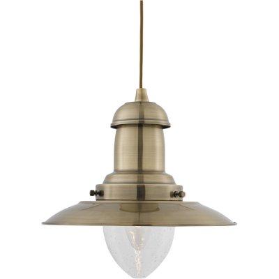 Светильник Arte lamp A5530SP-1AB FishermanПодвесные<br>Компания «Светодом» предлагает широкий ассортимент люстр от известных производителей. Представленные в нашем каталоге товары выполнены из современных материалов и обладают отличным качеством. Благодаря широкому ассортименту Вы сможете найти у нас люстру под любой интерьер. Мы предлагаем как классические варианты, так и современные модели, отличающиеся лаконичностью и простотой форм. <br>Стильная люстра Arte lamp A5530SP-1AB станет украшением любого дома. Эта модель от известного производителя не оставит равнодушным ценителей красивых и оригинальных предметов интерьера. Люстра Arte lamp A5530SP-1AB обеспечит равномерное распределение света по всей комнате. При выборе обратите внимание на характеристики, позволяющие приобрести наиболее подходящую модель. <br>Купить понравившуюся люстру по доступной цене Вы можете в интернет-магазине «Светодом».<br><br>Установка на натяжной потолок: Да<br>S освещ. до, м2: 7<br>Тип лампы: накаливания / энергосбережения / LED-светодиодная<br>Тип цоколя: E27<br>Количество ламп: 1<br>Ширина, мм: 320<br>MAX мощность ламп, Вт: 100<br>Диаметр, мм мм: 320<br>Длина цепи/провода, мм: 540<br>Высота, мм: 310<br>Цвет арматуры: бронзовый
