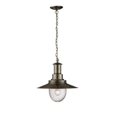 Светильник Arte lamp A5540SP-1AB FishermanПодвесные<br>Компания «Светодом» предлагает широкий ассортимент люстр от известных производителей. Представленные в нашем каталоге товары выполнены из современных материалов и обладают отличным качеством. Благодаря широкому ассортименту Вы сможете найти у нас люстру под любой интерьер. Мы предлагаем как классические варианты, так и современные модели, отличающиеся лаконичностью и простотой форм. <br>Стильная люстра Arte lamp A5540SP-1AB станет украшением любого дома. Эта модель от известного производителя не оставит равнодушным ценителей красивых и оригинальных предметов интерьера. Люстра Arte lamp A5540SP-1AB обеспечит равномерное распределение света по всей комнате. При выборе обратите внимание на характеристики, позволяющие приобрести наиболее подходящую модель. <br>Купить понравившуюся люстру по доступной цене Вы можете в интернет-магазине «Светодом».<br><br>Установка на натяжной потолок: Да<br>S освещ. до, м2: 1<br>Крепление: Планка<br>Тип лампы: накаливания / энергосбережения / LED-светодиодная<br>Тип цоколя: E27<br>Количество ламп: 1<br>MAX мощность ламп, Вт: 60<br>Диаметр, мм мм: 400<br>Высота, мм: 420<br>Цвет арматуры: бронзовый