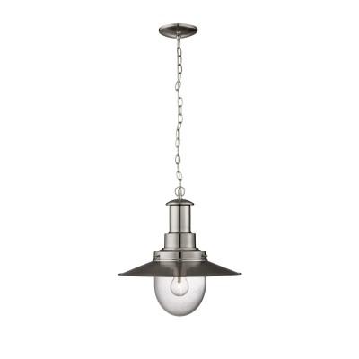 Светильник Arte lamp A5540SP-1SS FishermanПодвесные<br>Компания «Светодом» предлагает широкий ассортимент люстр от известных производителей. Представленные в нашем каталоге товары выполнены из современных материалов и обладают отличным качеством. Благодаря широкому ассортименту Вы сможете найти у нас люстру под любой интерьер. Мы предлагаем как классические варианты, так и современные модели, отличающиеся лаконичностью и простотой форм. <br>Стильная люстра Arte lamp A5540SP-1SS станет украшением любого дома. Эта модель от известного производителя не оставит равнодушным ценителей красивых и оригинальных предметов интерьера. Люстра Arte lamp A5540SP-1SS обеспечит равномерное распределение света по всей комнате. При выборе обратите внимание на характеристики, позволяющие приобрести наиболее подходящую модель. <br>Купить понравившуюся люстру по доступной цене Вы можете в интернет-магазине «Светодом».<br><br>Установка на натяжной потолок: Да<br>S освещ. до, м2: 1<br>Крепление: Планка<br>Тип лампы: накаливания / энергосбережения / LED-светодиодная<br>Тип цоколя: E27<br>Количество ламп: 1<br>MAX мощность ламп, Вт: 60<br>Диаметр, мм мм: 400<br>Высота, мм: 420<br>Цвет арматуры: серебристый