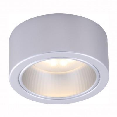 Светильник потолочный Arte lamp A5553PL-1GY EFFETTOКруглые<br>Настенно-потолочные светильники – это универсальные осветительные варианты, которые подходят для вертикального и горизонтального монтажа. В интернет-магазине «Светодом» Вы можете приобрести подобные модели по выгодной стоимости. В нашем каталоге представлены как бюджетные варианты, так и эксклюзивные изделия от производителей, которые уже давно заслужили доверие дизайнеров и простых покупателей.  Настенно-потолочный светильник ARTELamp A5553PL-1GY станет прекрасным дополнением к основному освещению. Благодаря качественному исполнению и применению современных технологий при производстве эта модель будет радовать Вас своим привлекательным внешним видом долгое время.  Приобрести настенно-потолочный светильник ARTELamp A5553PL-1GY можно, находясь в любой точке России.<br><br>S освещ. до, м2: 3<br>Тип цоколя: GX53<br>Цвет арматуры: серый<br>Количество ламп: 1<br>Размеры: H6xW13,5xL13,5<br>MAX мощность ламп, Вт: 11