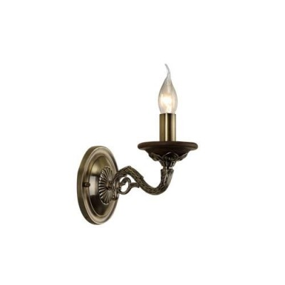 A5603AP-1AB Arte lamp СветильникКлассические<br><br><br>Крепление: Планка<br>Тип цоколя: E14<br>Цвет арматуры: античный бронзовый<br>Количество ламп: 1<br>Диаметр, мм мм: 110<br>Размеры: W110E240H220<br>Длина, мм: 240<br>Высота, мм: 220<br>MAX мощность ламп, Вт: 60W<br>Общая мощность, Вт: 40W