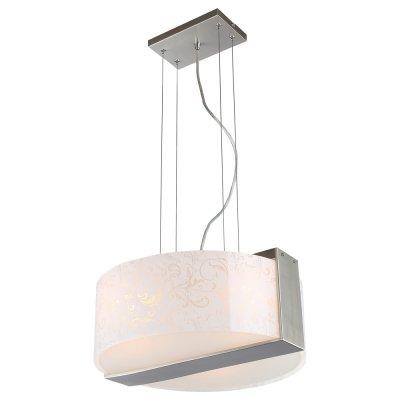 Светильник Arte lamp A5615SP-3SS BellaПодвесные<br>Компания «Светодом» предлагает широкий ассортимент люстр от известных производителей. Представленные в нашем каталоге товары выполнены из современных материалов и обладают отличным качеством. Благодаря широкому ассортименту Вы сможете найти у нас люстру под любой интерьер. Мы предлагаем как классические варианты, так и современные модели, отличающиеся лаконичностью и простотой форм.  Стильная люстра Arte lamp A5615SP-3SS станет украшением любого дома. Эта модель от известного производителя не оставит равнодушным ценителей красивых и оригинальных предметов интерьера. Люстра Arte lamp A5615SP-3SS обеспечит равномерное распределение света по всей комнате. При выборе обратите внимание на характеристики, позволяющие приобрести наиболее подходящую модель. Купить понравившуюся люстру по доступной цене Вы можете в интернет-магазине «Светодом».<br><br>Установка на натяжной потолок: Да<br>S освещ. до, м2: 9<br>Крепление: Планка<br>Тип цоколя: E27<br>Количество ламп: 3<br>MAX мощность ламп, Вт: 60<br>Диаметр, мм мм: 420<br>Высота, мм: 170<br>Цвет арматуры: серебристый