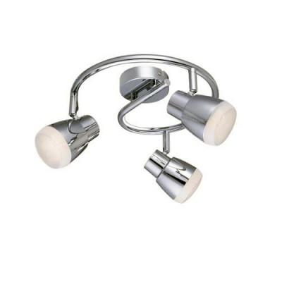 Светильник настенный Arte lamp A5621PL-3CC Cuffiaтройные споты<br><br><br>S освещ. до, м2: 6<br>Цветовая t, К: 3000K<br>Тип цоколя: LED<br>Цвет арматуры: Серебристый хром<br>Количество ламп: 3<br>Диаметр, мм мм: 250<br>Длина, мм: 250<br>Высота, мм: 180<br>MAX мощность ламп, Вт: 5W<br>Общая мощность, Вт: 15W