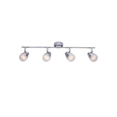 A5621PL-4CC Arte lamp СветильникС 4 лампами<br><br><br>S освещ. до, м2: 8<br>Цветовая t, К: 3000K<br>Тип цоколя: LED<br>Цвет арматуры: Серебристый хром<br>Количество ламп: 4<br>Диаметр, мм мм: 90<br>Длина, мм: 700<br>Высота, мм: 180<br>MAX мощность ламп, Вт: 5W<br>Общая мощность, Вт: 20W