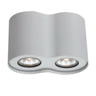 Светильник Arte lamp A5633PL-2WH FalconДекоративные точечные светильники<br>Встраиваемые светильники – популярное осветительное оборудование, которое можно использовать в качестве основного источника или в дополнение к люстре. Они позволяют создать нужную атмосферу атмосферу и привнести в интерьер уют и комфорт. <br> Интернет-магазин «Светодом» предлагает стильный встраиваемый светильник ARTE Lamp A5633PL-2WH. Данная модель достаточно универсальна, поэтому подойдет практически под любой интерьер. Перед покупкой не забудьте ознакомиться с техническими параметрами, чтобы узнать тип цоколя, площадь освещения и другие важные характеристики. <br> Приобрести встраиваемый светильник ARTE Lamp A5633PL-2WH в нашем онлайн-магазине Вы можете либо с помощью «Корзины», либо по контактным номерам. Мы развозим заказы по Москве, Екатеринбургу и остальным российским городам.<br><br>Тип лампы: галогенная/LED<br>Тип цоколя: GU10<br>Цвет арматуры: белый<br>Количество ламп: 2<br>Ширина, мм: 110<br>Длина, мм: 200<br>Высота, мм: 130<br>MAX мощность ламп, Вт: 50