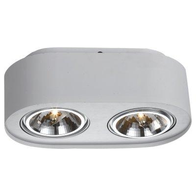 Светильник Arte lamp A5643PL-2WH CliffОвальные<br>Встраиваемые светильники – популярное осветительное оборудование, которое можно использовать в качестве основного источника или в дополнение к люстре. Они позволяют создать нужную атмосферу атмосферу и привнести в интерьер уют и комфорт.   Интернет-магазин «Светодом» предлагает стильный встраиваемый светильник ARTE Lamp A5643PL-2WH. Данная модель достаточно универсальна, поэтому подойдет практически под любой интерьер. Перед покупкой не забудьте ознакомиться с техническими параметрами, чтобы узнать тип цоколя, площадь освещения и другие важные характеристики.   Приобрести встраиваемый светильник ARTE Lamp A5643PL-2WH в нашем онлайн-магазине Вы можете либо с помощью «Корзины», либо по контактным номерам. Мы развозим заказы по Москве, Екатеринбургу и остальным российским городам.<br><br>Тип лампы: галогенная/LED<br>Тип цоколя: G53<br>Количество ламп: 2<br>Ширина, мм: 120<br>MAX мощность ламп, Вт: 50<br>Длина, мм: 270<br>Высота, мм: 120<br>Цвет арматуры: белый