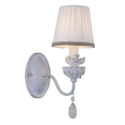 A5656AP-1WG Arte lamp СветильникКлассические<br><br><br>Крепление: Планка<br>Тип цоколя: E14<br>Количество ламп: 1<br>MAX мощность ламп, Вт: 40W<br>Диаметр, мм мм: 140<br>Размеры: W140E250H340<br>Длина, мм: 250<br>Высота, мм: 340<br>Цвет арматуры: белый-ЗОЛОТОЙ<br>Общая мощность, Вт: 40W